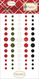 Christmas - Carta Bella - Enamel dots _60ks