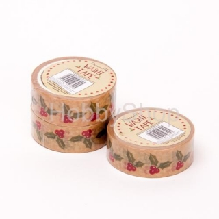 Washi páska Christmas Washi Tape Traditional 5_5m