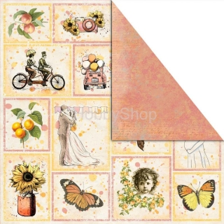 Bananarama -  PICTURES OF LIFE  scrapbook papier 12x12 inch
