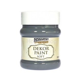 Dekor paint soft/ grafitová sivá_230ml