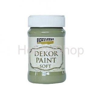 Dekor paint soft/ olivová_100ml