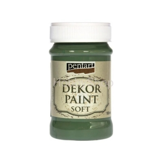 Dekor paint soft/ khaki zelená_100ml