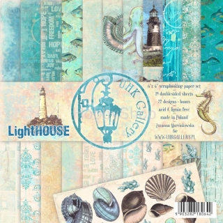LightHOUSE - sada  scrapbook papierov 6x6 inch