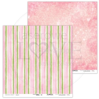 Watermelon Friends 02 scrapbook papier 12x12 inch
