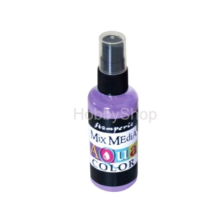 AQUACOLOR spray - fialový 60ml