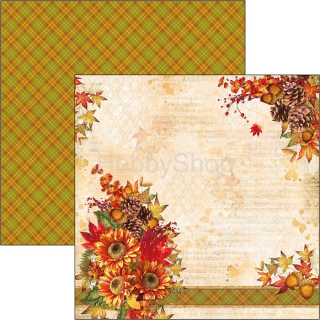 Sound of Autumn 077 - scrapbook papier 12x12inch