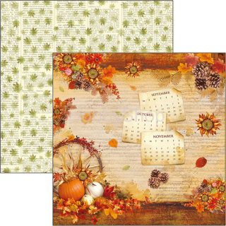 Sound of Autumn 078 - scrapbook papier 12x12inch