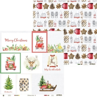 CHRISTMAS TREATS 05 - scrapbook papier 12x12inch
