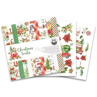 CHRISTMAS TREATS  sada scrapbook papierov 6x6inch_24ks