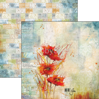 SOUND OF SPRING 033 - scrapbook papier 12x12inch