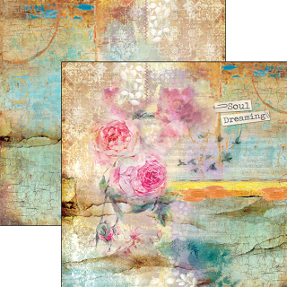 SOUND OF SPRING 036 - scrapbook papier 12x12inch