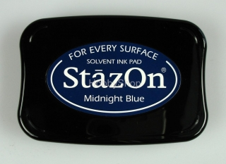 StazOn Solvent Ink pad_ Midnight blue
