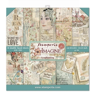 IMAGINE - sada scrapbook papierov 12x12 inch