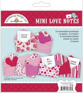 Doodlebug Design Love Birds Mini Love Notes
