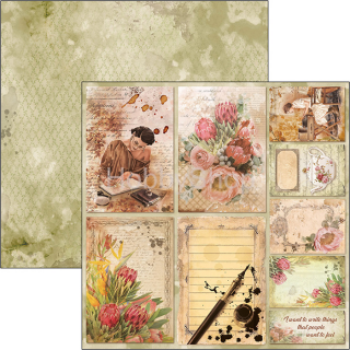 The Muse - CARDS - scrapbook papier 12x12inch