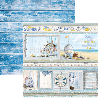 SOUND OF SUMMER - SUMMER CARDS - scrapbook papier 12x12inch