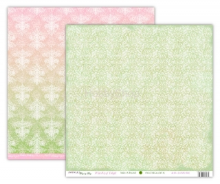 Avonlea SUMMER - White Way of Delight scrapbook papier 12x12 inch