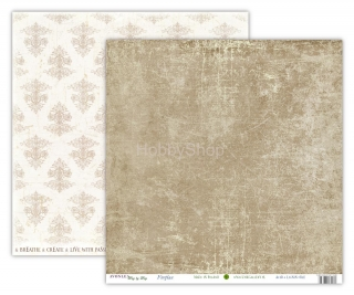 Avonlea  WINTER - Fireplace scrapbook papier 12x12 inch