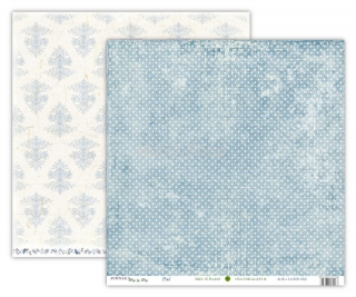 Avonlea WINTER - Pool  scrapbook papier 12x12 inch