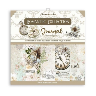 ROMANTIC JOURNAL / sada scrapbook papierov  12x12 inch