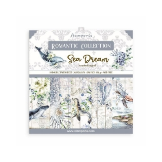 SEA DREAM - sada scrapbook papierov 8x8 inch