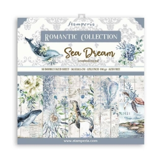 SEA DREAM / sada scrapbook papierov  12x12 inch