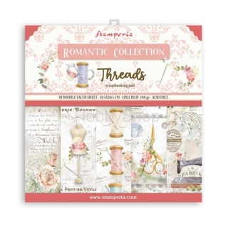 THREADS / sada scrapbook papierov  12x12 inch