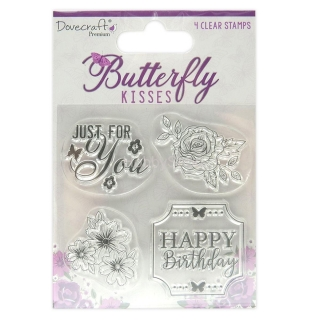 Butterfly Kisses Clear Stamps_4ks