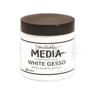 Dina Wakley Media White Gesso 118 ml