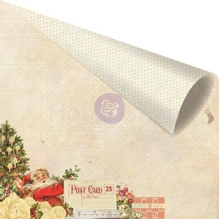 Sweet Peppermint - Naughty or Nice? scrapbook papier 12x12 inch