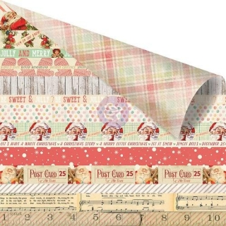 Sweet Peppermint - Sweet Peppermint scrapbook papier 12x12 inch