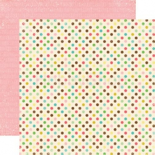 Life is good - Seeing Spots - scrapbook papier 12x12 inch