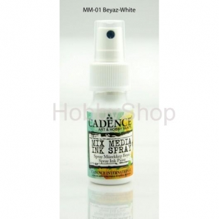 MIX MEDIA INK SPRAY_25ml/ white