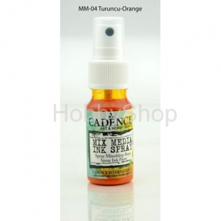 MIX MEDIA INK SPRAY_25ml/ orange