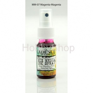MIX MEDIA INK SPRAY_25ml/ magenta
