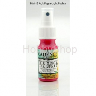MIX MEDIA INK SPRAY_25ml/ light fuchsia
