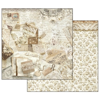 Old Lace - Cards and Laces / scrapbook papier 12x12 inch