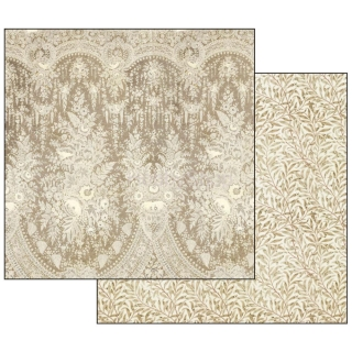 Old Lace - texture beige background / scrapbook papier 12x12 inch