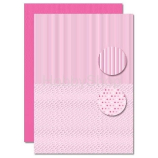 A4 papier na pozadie Babygirl - Dots