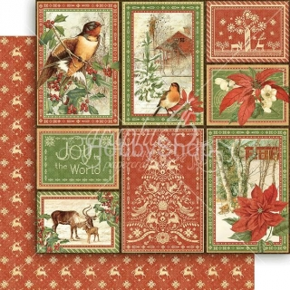 Graphic45 - Rustic Holiday _12x12inch