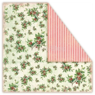Christmas in Avonlea - Holly - scrapbook papier 12x12 inch