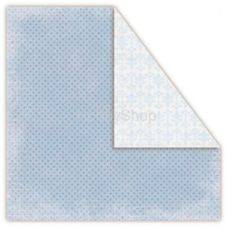 Frosty Morning - Blizzard - scrapbook papier 12x12 inch