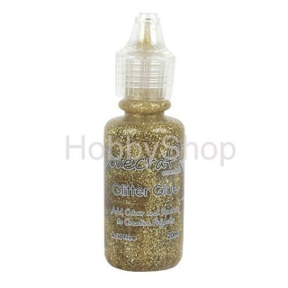 Trblietavé lepidlo Dovecraft GOLD_20ml